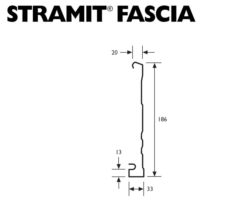 Stramit Stramit 174 Metal Fascia